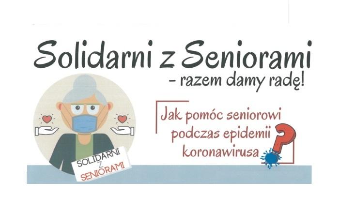 Solidarni z Seniorami – razem damy radę!